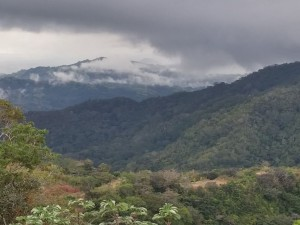 costa rica mountain view