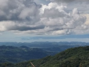 view of costa rica from our new house