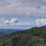 view of the Nicoya Gulf from our new home near San Ramon Costa Rica