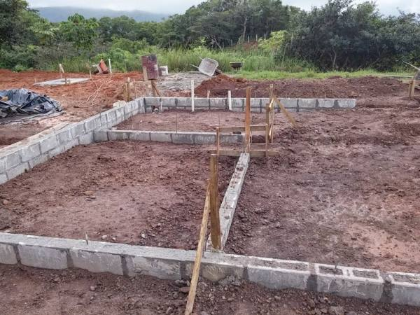 Costa Rica home construction began